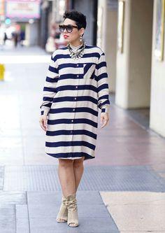 How To Wear Shirt Dress Casual Simple 50 Best Ideas Simply Fashion, Curvy Fashion, Modest Fashion, Women's Fashion Dresses, Diy Fashion, Casual Dresses, Fashion Looks, Fashion Fall, Midi Dresses