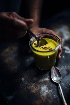 vegan coconut and pumpkin pudding   A Brown Table