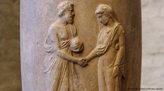 ancient syrian handshake - Google Search Greek, Statue, History, Google Search, Art, Art Background, Historia, Greek Language, Kunst