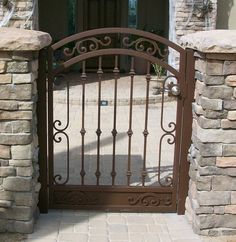 Home Ideas For Gt Simple Iron Gates Design Wrought Iron