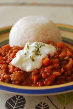 Sweet Potato, Vegetable and Lentil Chilli   Slimming Eats - Slimming World Recipes