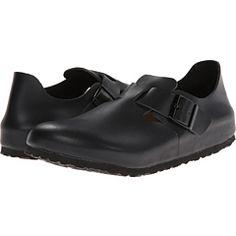 London Soft Footbed (Hunter Black Leather) Shoes