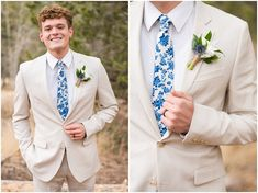 Groom wearing ivory colored suit with blue tie in the mountains | Tibble Fork Winter Formal Session | Jessie and Dallin Photography #utahwedding #winterwedding #brideandgroom #utahbrideandgroom #utahvalleybride #rockymountainbride #blue #ivory #weddingday #utahmountains #mountains #mountainwedding #rockymountains #rockymountainwedding #groom #groomswear #groomstyle #menswear Groom Wear, Groom And Groomsmen, Jazz Wedding, Wedding Day, Wedding Venues Utah, Mountain Weddings, Temple Wedding, Winter Formal, Utah Wedding Photographers