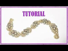 ▶ Tutorial, come fare un bracciale con perline. Bracciale Iridescenze Decò - YouTube