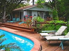 Austin, TX | Casa Del Sol Bed & Breakfast at Lake Travis is a romantic, secluded inn nestled in Texas Hill Country. Relax in the hot tub or take a stroll through the meditation garden, the inn is only minutes away from all downtown Austin has to offer. #bedandbreakfast #travel