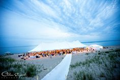 tent wedding on Lake Michigan! This is seriously my dream wedding! I would die