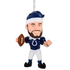Indianapolis Colts Andrew Luck Elf Ornament