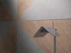[ Younhyun Tile / 윤현상재 타일 ] Triagle Tile : Blend Smoke / Size (cm) : 60X60
