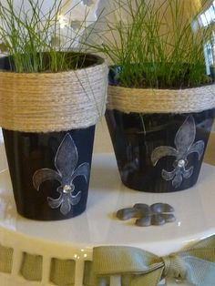 Love these!  pots for my pants..too cute!