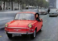 Driving through Paris with Skoda MB 1000 - Skoda - Škoda Auto Bugatti, Lamborghini, Audi, Porsche, Volkswagen, Cars Vintage, Vintage Photos, Kei Car, Car Posters