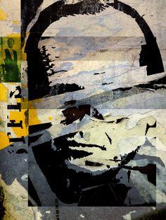 Mr X, Giclée Art Print Format: 60 x 80 cm Print Format, Digital Collage, Paintings, Art Prints, Abstract, Artwork, Photography, Art Impressions, Summary