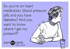 "Vegan Humor ""i'm not a vegan yet and now i am pre-diabetic for no good reason. L.L."""