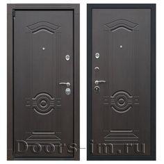 Входная металлическая дверь АСД ГЕРМЕС венге (описание и характеристики):   Коробка двери цельнокатанная, с широким наличником (80 мм). Изготовлена из усиленной стали толщиной 2 мм,  утеплена