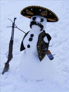 Latin American snowman?
