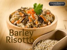 With the exception of wheat, barley is one of the oldest grains. It is a common ingredient in both soup and beer, and is an acidic grain that can be made more alkaline by roasting prior to consumpt...