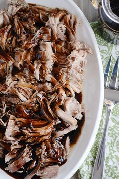 Balsamic Glazed Pork Loin  instant pot/slow cooker