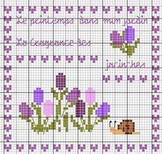 Les printemps dans mon jardin... Le fragrance des jacinthes (Spring in my garden... The fragrance of hyacinths) - Les chroniques de Frimousse