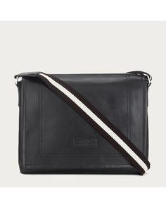 View Fullscreen Bally [Him] Bally: Tepolt Men ́s Leather Messenger Bag in Black at Lyst ($895)