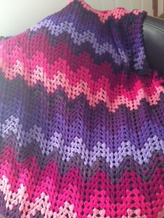 Ravelry: chefdionne's Granny Ripple For Gabby-Full Size