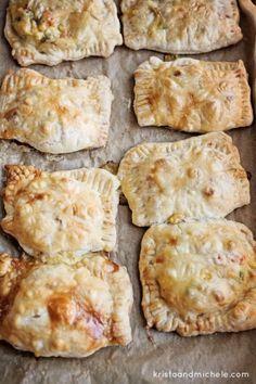 Hand-held pot pies   theglitterguide.com