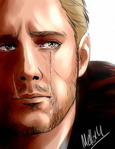 Cullen with tears *so many feels* #dragonage  C-15 by MellorianJ (DeviantArt)