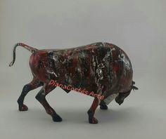 Moose Art, Animals, Glow Effect, Modern Art, Resin, Jitter Glitter, Glass, Animales, Animaux