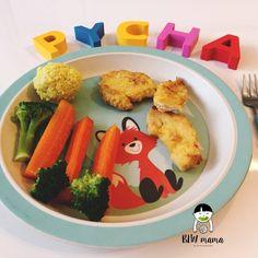 Cytrynowy kurczak zagrodowy – soczyste NUGGETSY lub jaglane pulpeciki dla bezzębnych. BLW – BLW od kuchni. Rozwój dziecka przez jedzenie.