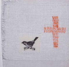 birds and stitches                          Christine Mauersberger