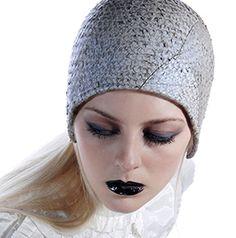 Fishskin Cloche by Jasmin Zorlu via www.thewomenseye.com #design #hats