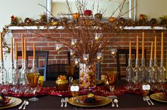 Thanksgiving Table Designer Challenge Finalists: Day 1
