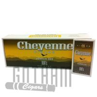 Cheyenne Filtered Vanilla Cigars come with a pronounced vanilla flavor and a luxurious smoke. The cigars are wrapped in homogenized sheets and are filled with high-quality tobacco that are grown in the USA. These carefully-crafted filtered cigars are meant for smokers who love the tobacco but enjoy and easier smoke thanks to the filter. #cheyenne #filteredcigars #vanilla