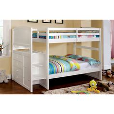 Hokku Designs June Twin Bunk Bed & Reviews | Wayfair