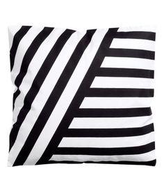 stripe pillow cover | H&M US