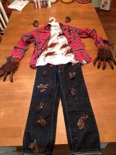 Werewolf costume | halloweeny                                                                                                                                                                                 More