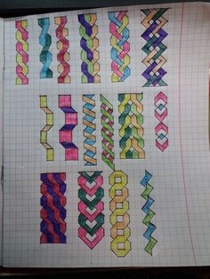 Cool Patterns Easy To Paint Cool Patterns Easy To Paint Cool Patterns Easy To Paint Source By Mailinwegner Cool Patterns Easy To Paint Paint Patterns Graph Paper Drawings, Graph Paper Art, Easy Drawings, Pencil Drawings, Zentangle Patterns, Quilt Patterns, Pixel Drawing, Geometric Drawing, Quilt Border