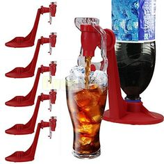 5x Fizz Soda Saver Dispenser Bottle Drinking Water Dispense Machine Gadget * You can get more details by clicking on the image.