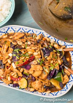 Asian Recipes, Ethnic Recipes, Kung Pao Chicken, Good Food, Food And Drink, Turkey, Cooking Recipes, Baking, God