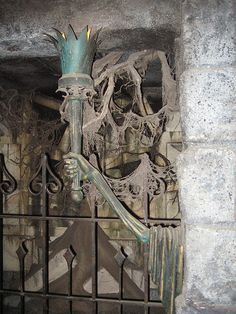 sconces in the crypts by giddygirlie, via Flickr