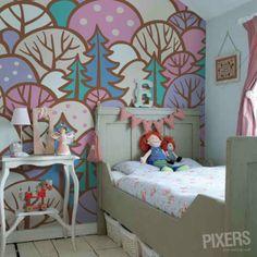 Forest - inspiration wallmurals, interiors gallery• PIXERSIZE.com