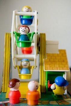 Ferris Wheel Fisher-Price Vintage Little People Jouets Fisher Price, Fisher Price Toys, Vintage Fisher Price, My Childhood Memories, Childhood Toys, Sweet Memories, Retro Toys, Vintage Toys, Oldies But Goodies