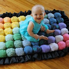 DIY Bubble Quilt – Puff Blanket – Biscuit Quilt by ^ kristen ^ Puff Blanket, Bubble Blanket, Bubble Quilt, Puff Quilt, Rag Quilt, Quilt Baby, Manta Quilt, Biscuit Quilt, Baby Puffs