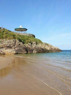Castle Beach in Tenby