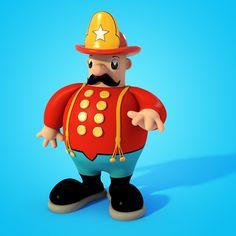 Macy's Thanksgiving Day Parade Characters by Teodoru Badiu, via Behance