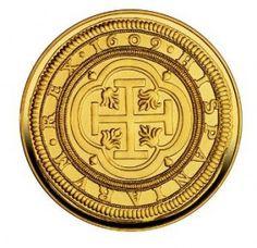centén - Fue una moneda española de 100 escudos de oro emitida en 1609 bajo el reinado de Felipe III, también fue acuñada bajo los reinados de Felipe IV y Carlos II, tiene un peso de 359 gramos de oro. Durante el reinado de Isabel II se llamó centén a la moneda de 100 reales.