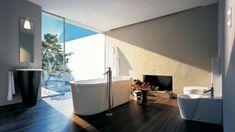 badezimmer modern gestalten sehr tolles interieur freistehende badewanne