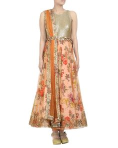 Fabulous Collections Of Designers Ritu & Divvya from the House Of Simaaya Fashions. Grab this at http://www.simaayafashions.com/orange-coloured-designer-suit-crdc9-895 #Designercollection #Indiandressup #Trendy #Simaaya