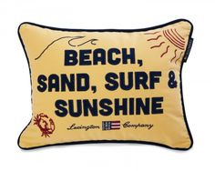 Lexington Seaside, Beach, Sand, Surf, Sunshine Sham - Lexington Company