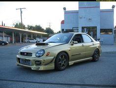 Sweet BugEye 2002 Subaru Wrx, Subaru Impreza, Death Race, Custom Paint Jobs, Wrx Sti, Rally Car, Old Cars, Jdm, Cars And Motorcycles