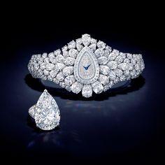 Diamond Watch and Detachable Ring! Graff