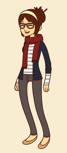 Hipster dress up at http://www.hyptod.com/fls/games/hipster_girl_dress_up/index.html This is pretty accurate